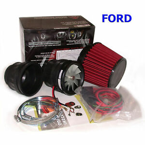 Image Is Loading Vortex Electric Supercharger Air Induction Kit For Ford