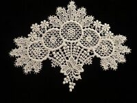 White Cotton Large Medallion - Lot Of 6 For $9.99
