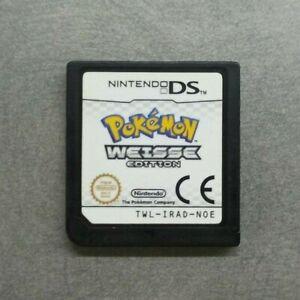 Original POKÉMON BLANCO VERSIÓN Nintendo DS Juego CARTUCHO solo PAL alemán