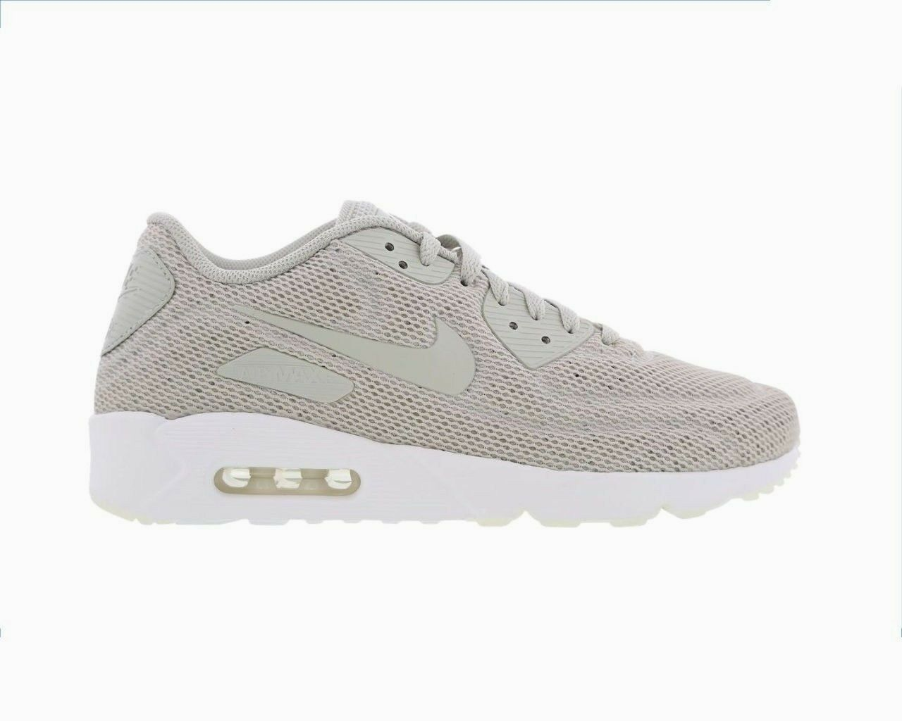 Original Hommes Nike Air Max Trainers 90 Ultra 2.0 Breathe Trainers Max Pale Gris 898010002 085446