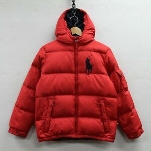 Vintage-Polo-Ralph-Lauren-Down-Insulated-Puffer-Jacket-Youth-Large-14-16