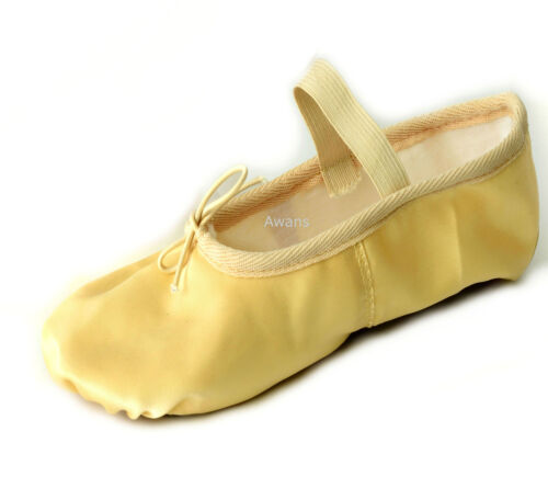 Pink Ballet Satin Dance Shoes Silky Finish Full Sole Satin Shoes with elastic