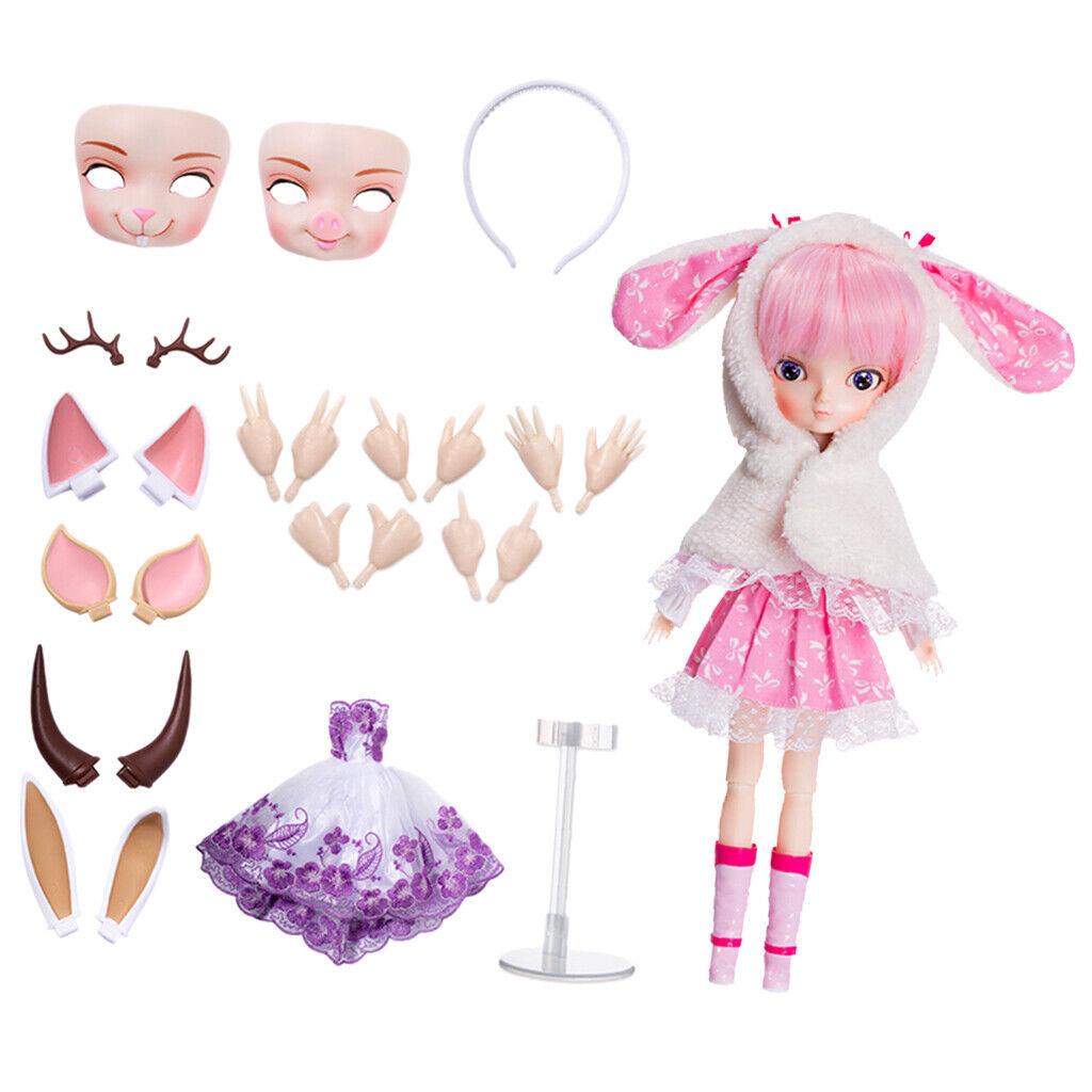 1 6 BJD Anime Girl bambola azione cifra  & BJD bambola DIY Accessori per bbgirl  risparmia fino al 30-50% di sconto