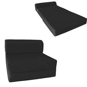 Image Is Loading Sleeper Chair Folding Foam Beds Sofa Bed 1