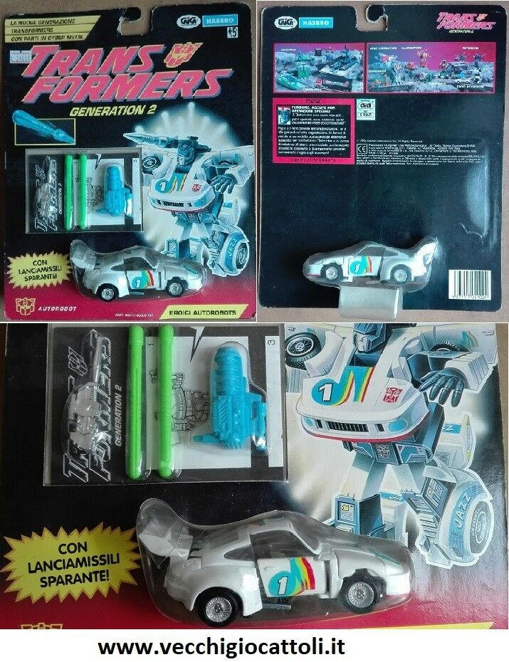 Hasbro Takara Transformers G2 Autorobot Tigre Jazz 1994