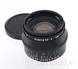 Details about JUPITER-8 50mm f2 black Lens M39 Zorki FED Leica 35mm RF  camera KMZ 50/2 sonnar