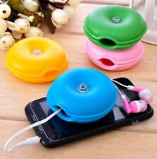 High Quality Turtle Headphone Earphone Winder Wire Box Cord Cable Organizer LJ