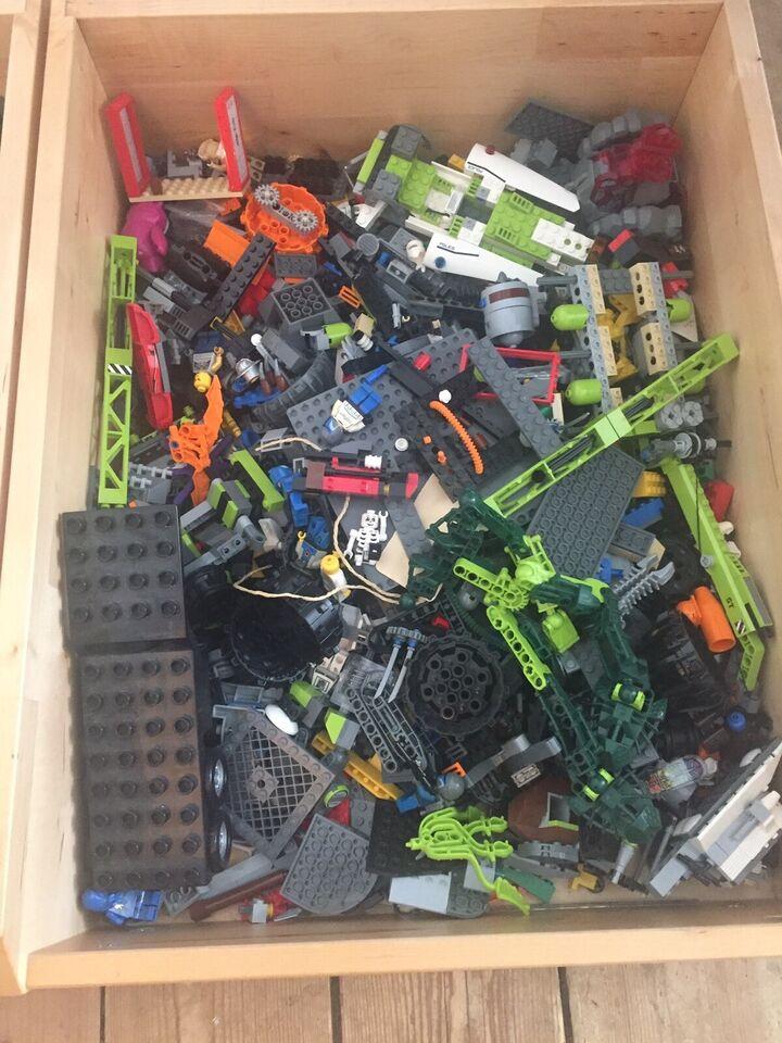 Lego blandet, Mange forskellige