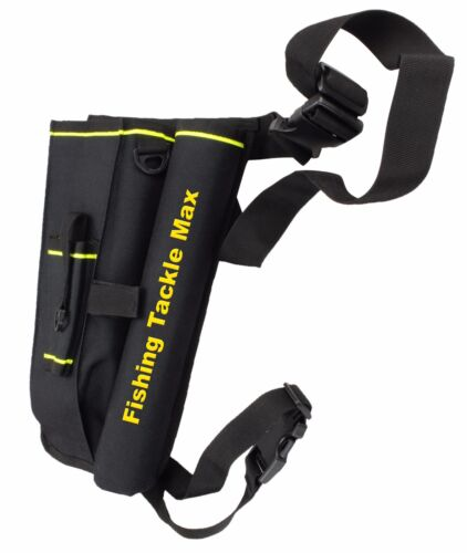 FTM Spoon Beintasche mit Box Streetfisher Tasche Rutenhalter Fishing Tackle Max