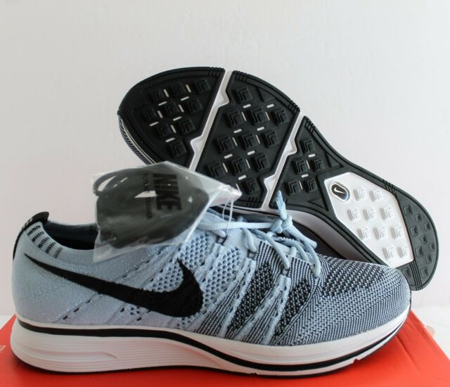 best service 088ec d8adb Nike Flyknit Trainer Cirrus Blue Black Men Running Shoes SNEAKERS  Ah8396-400 9