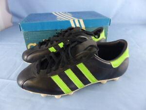 Détails sur ADIDAS BRAZIL anciennes chaussures de football VINTAGE années 70 !!! NEUVES T 37