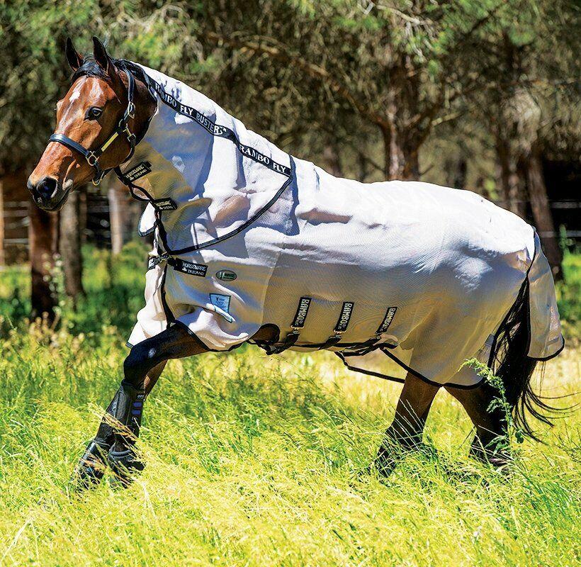 Horseware Rambo FliegenBUSTER Vamoose Fliegen Rug Fliegen Rug Best Quality
