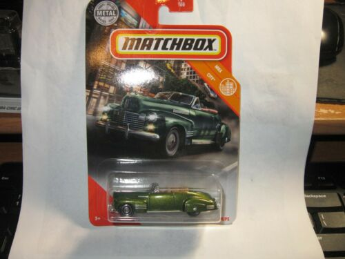 2020 MATCHBOX  #9 /'41 Cadillac Series 62 Convertible Coupe