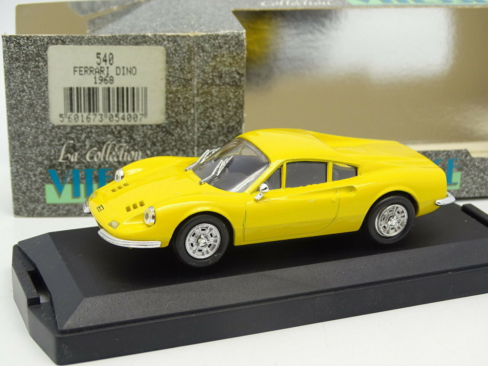 Vitesse 1 43 43 43 - Ferrari Dino 1968 yellow efe4da