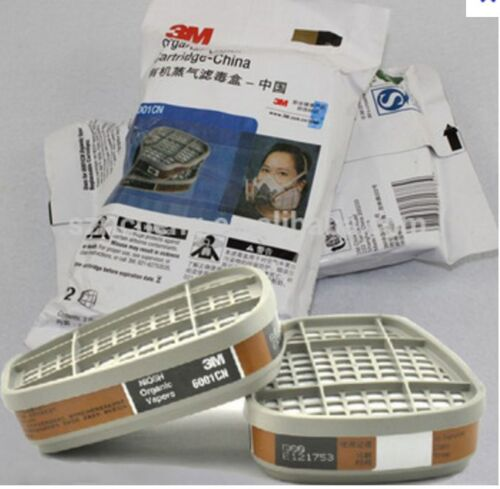 3M 6001CN 2  Filtres Respiratoire Cartouche poussiere Vapeur  Filtre ATF 1