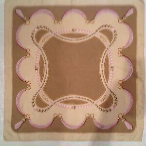 CARTIER authentique Foulard soie TBEG vintage Scarf 86 x 84 cm   eBay a0332b86717