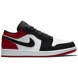 Detalles de Jordan Air Jordan 1 Low Zapatillas Blanco Hombre