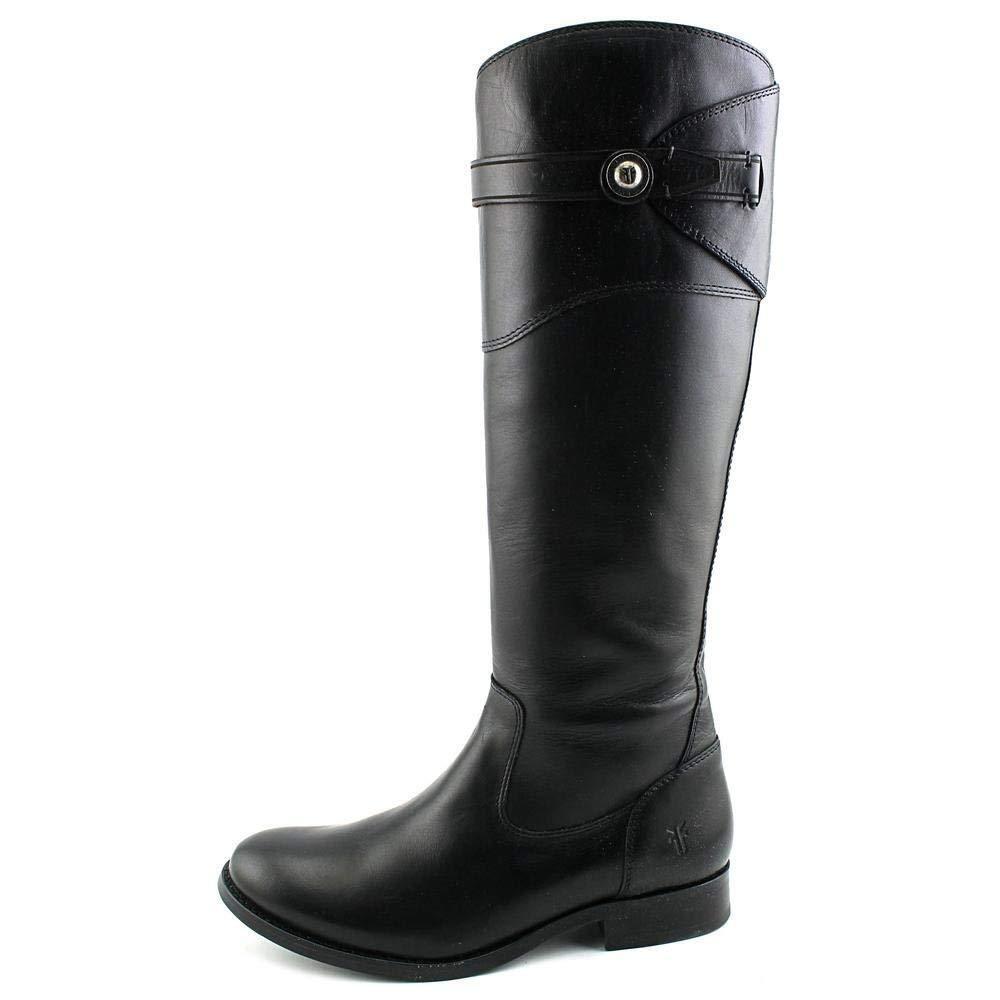 Frye Molly botón Alto De Cuero Cuero Cuero Negro para Mujer botas De Montar Talla 6  398 Nuevas Con Caja  ahorra hasta un 50%