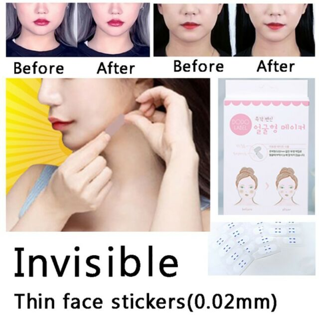 Face Lift VShape Face Label Lift Up Fast Maker Chin Adhesive Healthy Tape Makeup