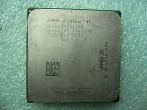 QTY 1x AMD Athlon II B28 3.4 GHz Dual-Core ADXB28OCK23GM CPU Socket AM3