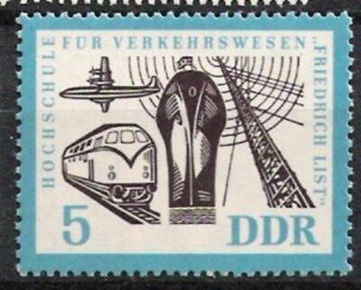 Qualifiziert Ddr Nr.916 ** Hochschule Verkehrswesen 1962, Postfrisch Rheuma Und ErkäLtung Lindern