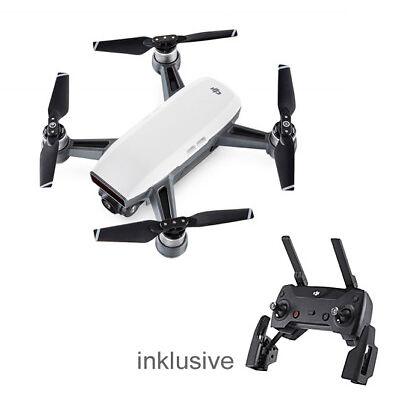 DJI SPARK alpinweiß Drohne inklusive DJI Fernsteuerung  zum Hammerpreis !