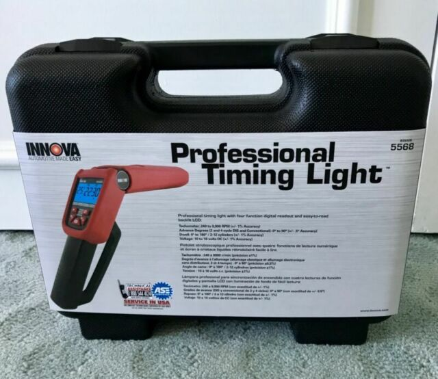 INNOVA 5568 Pro-Timing Light with Tool Case