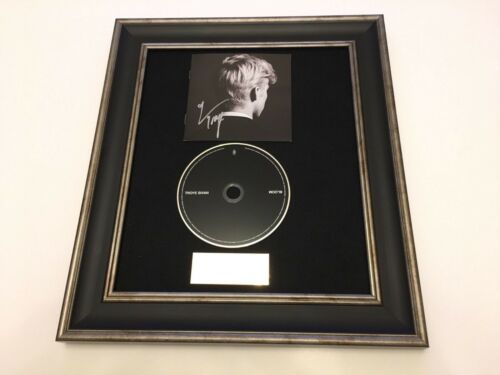 PERSONALLY SIGNED//AUTOGRAPHED TROYE SIVAN BLOOM FRAMED CD PRESENTATION