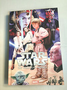 STAR-WARS-The-Phantom-Menace-Episode-I-Graphic-Novel-TPB-Hard-Cover-HC