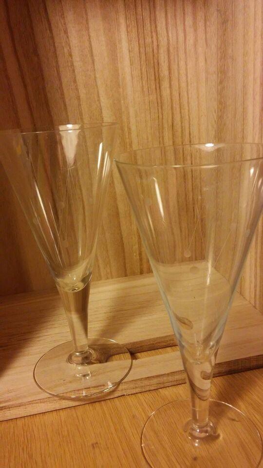 Glas, Champagneglas, Clausholm