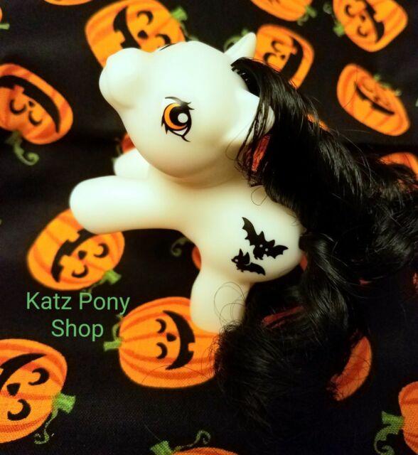 HQG1C Vintage G1 Style Baby Halloween My Little Pony ~*BATTY BOO*~ Glows in Dark