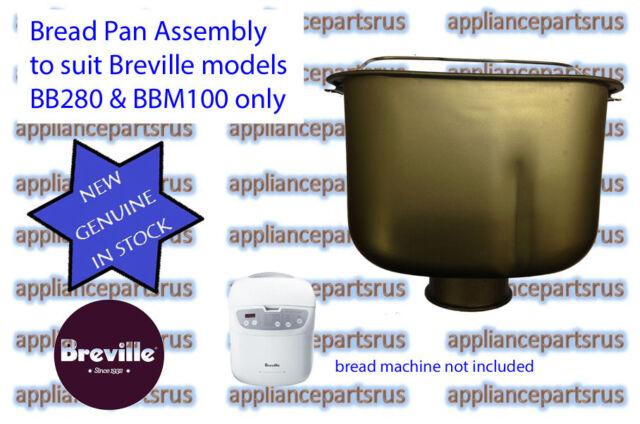 Breville BB280 & BBM100 Bread Maker Pan Part BB280/35 - NEW - GENUINE - IN STOCK