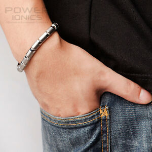 New-Power-Health-100-Titanium-99-99-Germanium-Bracelet-Balance-Wristband-w-Box