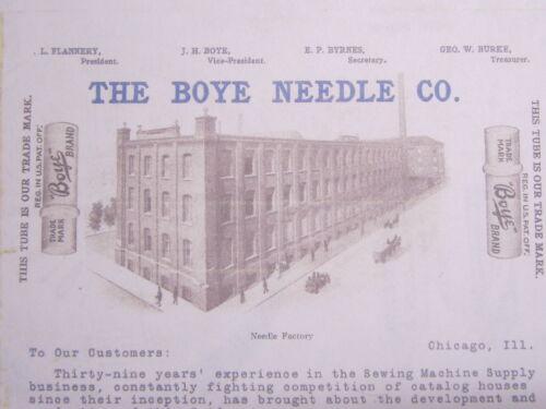 Boye Standard Rotary Davis NVF 15x1 Treadle Sewing Machine Needles