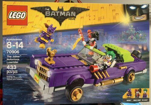 Retired Lego The Batman Movie Set 70906 The Joker Notorious Lowrider New Sealed