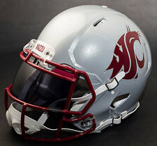 WASHINGTON STATE COUGARS Authentic GAMEDAY Football Helmet w/ OAKLEY Eye Shield