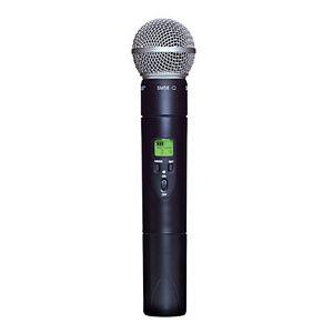 Shure Slx2 Handheld Wireless Uhf Transmitter With Sm58 Microphone : shure ulx2 58 g3 uhf handheld wireless transmitter with sm58 cardioid microphone 42406147514 ebay ~ Russianpoet.info Haus und Dekorationen