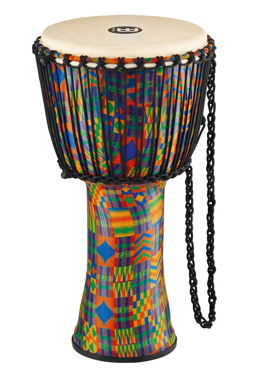 MEINL Percussion Travel Series African Djembe Kenyan Quilt Large - Naturfell