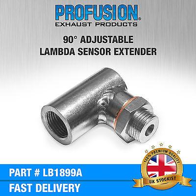 Angled Lambda O2 Oxygen Sensor Exhaust Boss M18x1.5