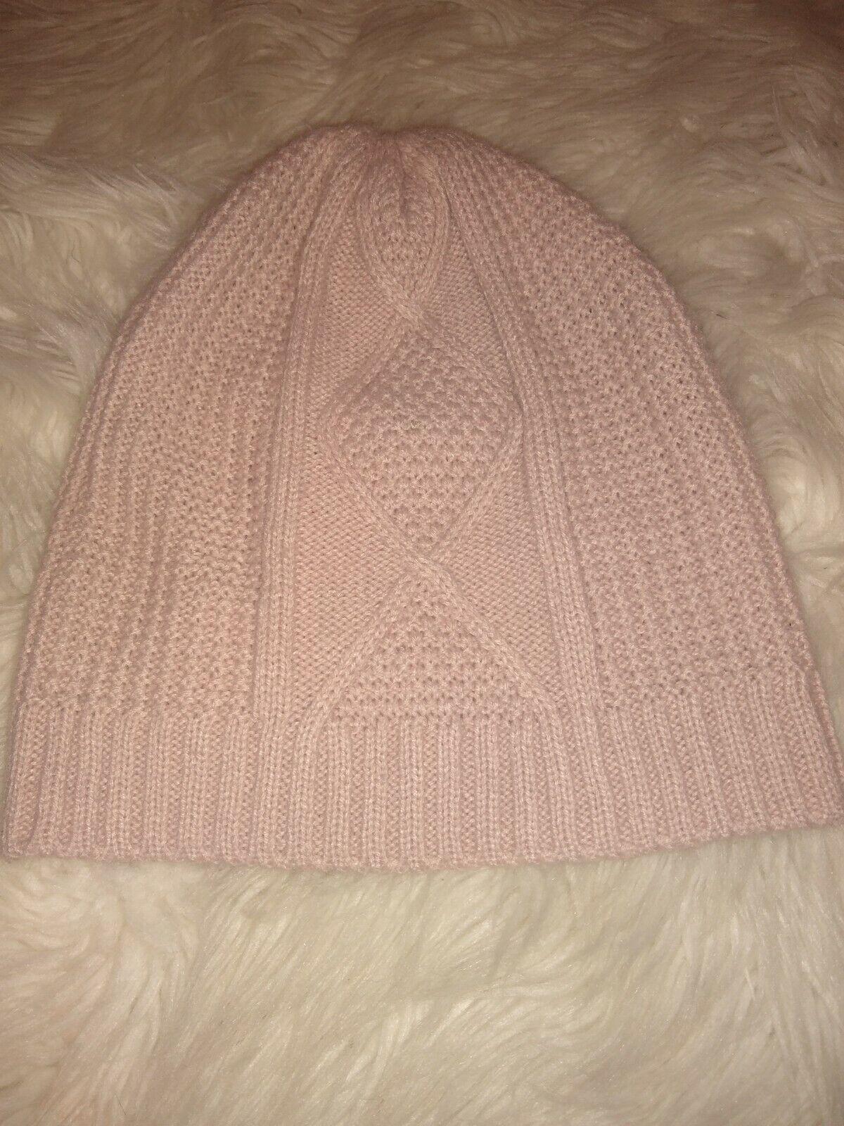 TJD Womens Beanie Hat Dusty Rose Slouchy Toboggan… - image 1