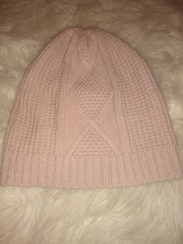TJD Womens Beanie Hat Dusty Rose Slouchy Toboggan