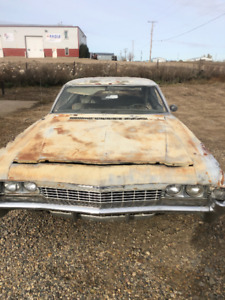 For Sale 1968 Chevy Impala two door hard top fast back