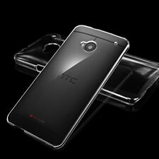 Ultra Thin Crystal Transparent Clear Hard Plastic Case Cover For HTC ONE M7