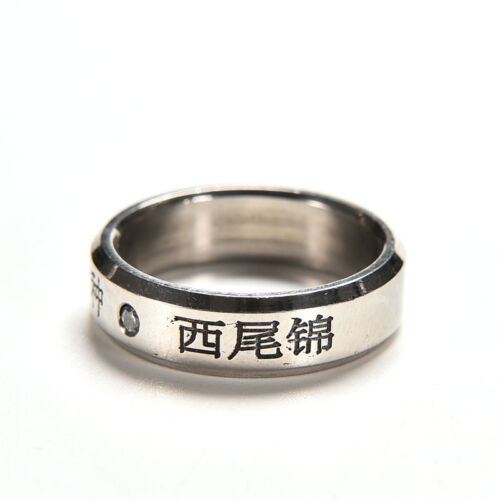 1pc New  Cosplay Anime For Tokyo ghoul  Kaneki Titanium steel ring rings/_ESDIH2