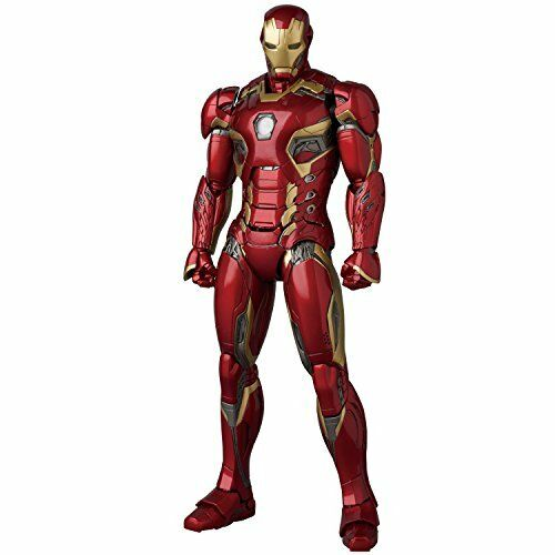New Medicom Toy Mafex Iron Man Mark 45 Avengers Age Of Ultron Action Figure