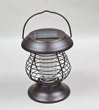 Solar Powered Insect Killer Bug Zapper Mosquito Fly Bugs Outdoor Lamp Home