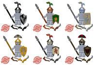 Custom Elven Sentinel Armor Pack For Lego Minifigures -6 Styles Brickforge Lotr