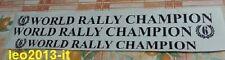 Adesivi stickers porte world rally champion lancia delta hf integrale 8-16 evo 1