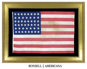 46-Star-Antique-US-United-States-Flag-Americana-Patriotic