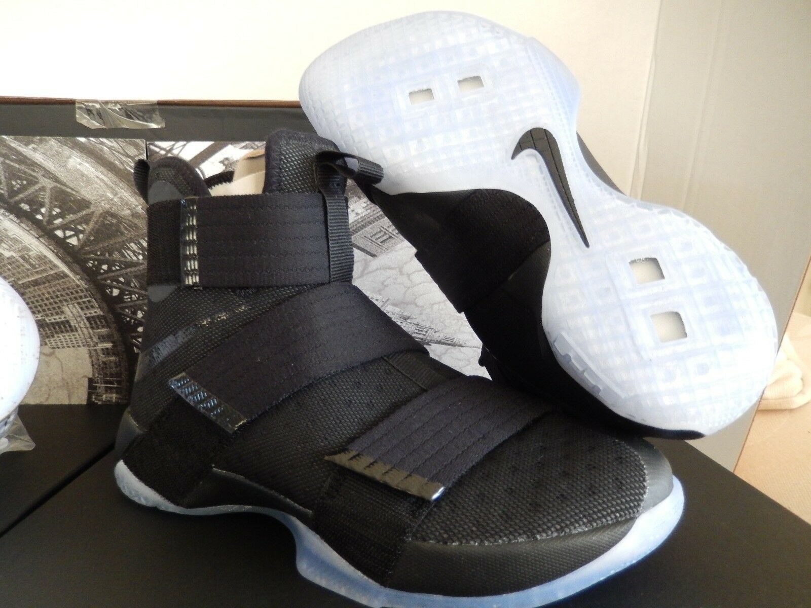 nike 4 wins-game 3 homecoming - packung - kyrie / lebron sz - packung 8 54961f